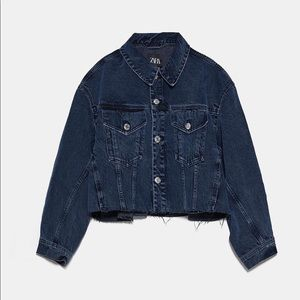 Brand new Zara oversized denim jackets